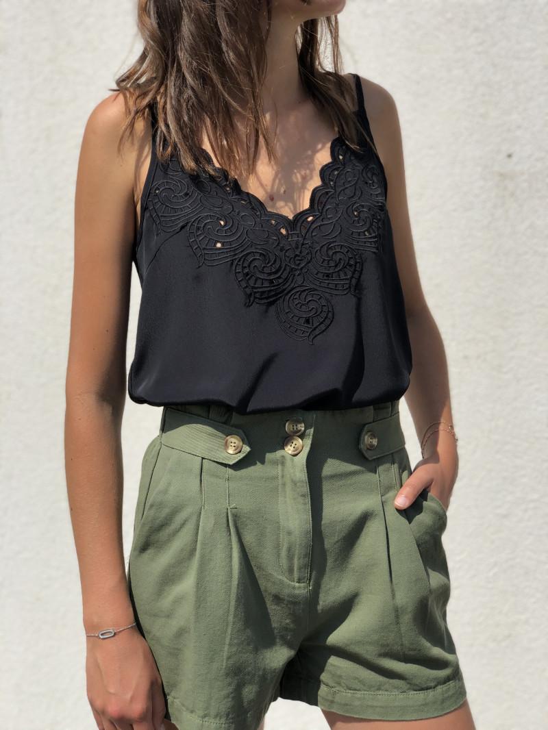 Top Clothilde Noir