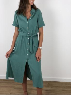 Robe Margaux Vert d'eau