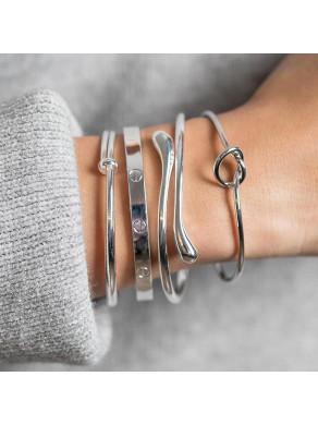 Bracelet Coeur Argenté