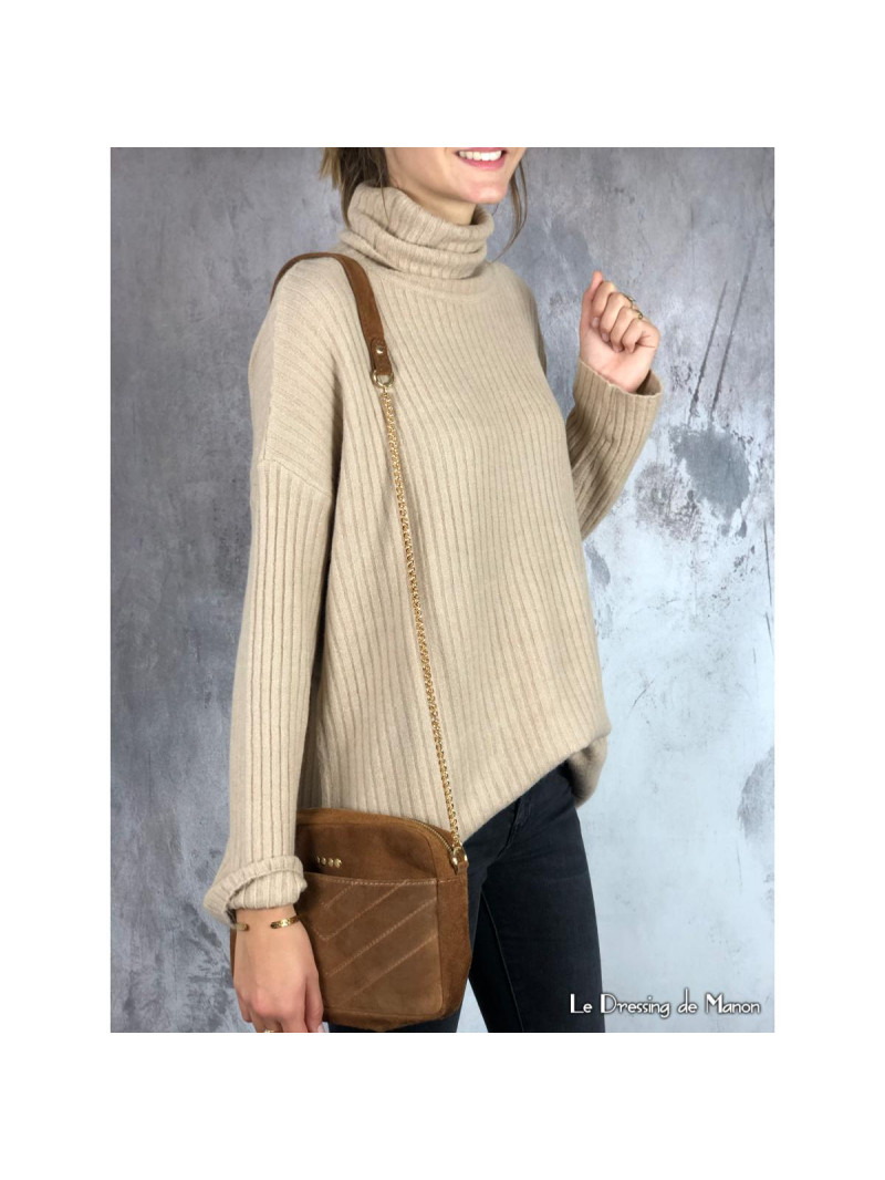 Pull Louise Beige