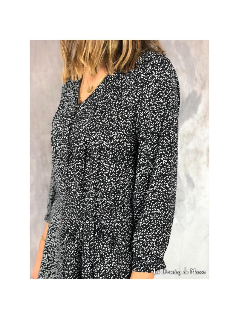 Robe Opaline Noire