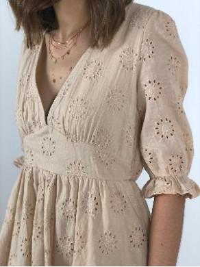 Robe Mathilde Beige