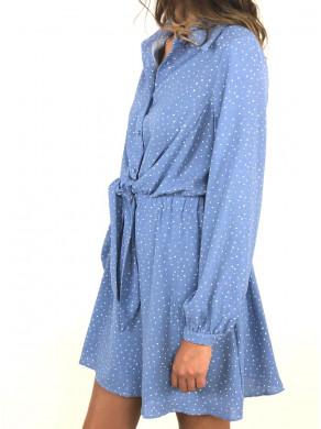 Robe Constance Bleue