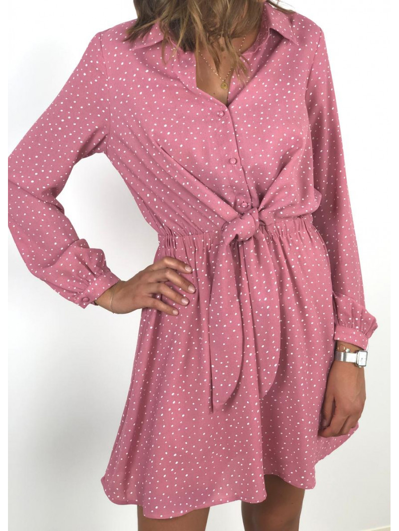Robe Constance Rose