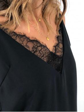 Top Oriane Noir