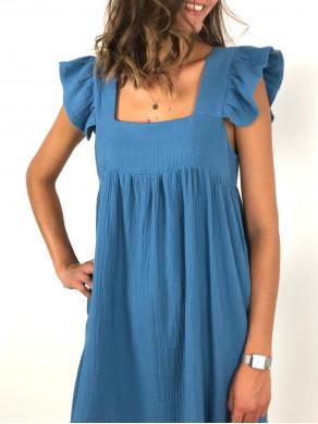 Robe Hortense Bleue