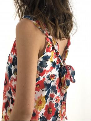 Robe Apolline fleurs d'été