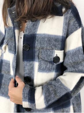 Manteau Paulette Bleu