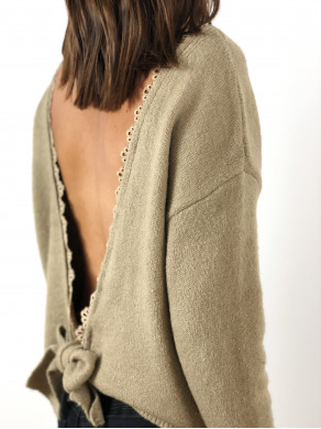 Pull Noanne Taupe