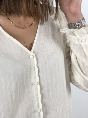 Top Zoé Beige