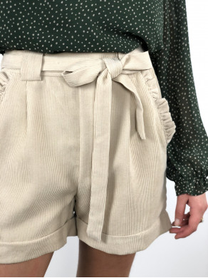 Short Louison beige