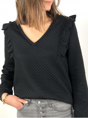 Top Apolline Noir