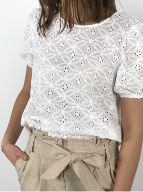 Pantalon Colette Beige