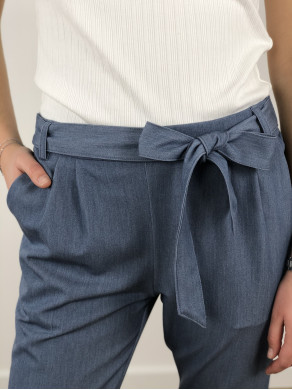 Pantalon Ingrid bleu